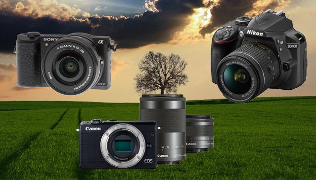 Manzara çekimleri için yeni başlangıç seviyesi kameralardan en iyisi hangisidir? | PHOTO-TREND