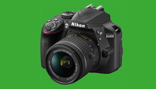 Nikon D3400 kiti