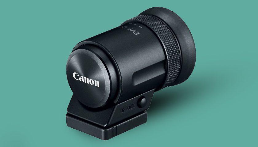 Kompozisyonunuzu rahatlatacak Canon Elektronik Vizör EVF-DC2