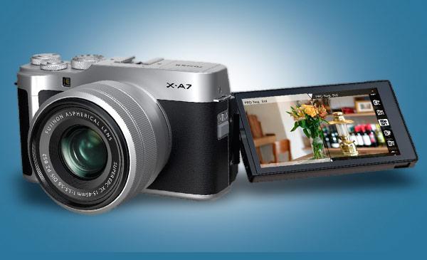 Fujifilm X-A7, en modern fonksiyonları modası geçmeyecek bir tasarımla sunuyor