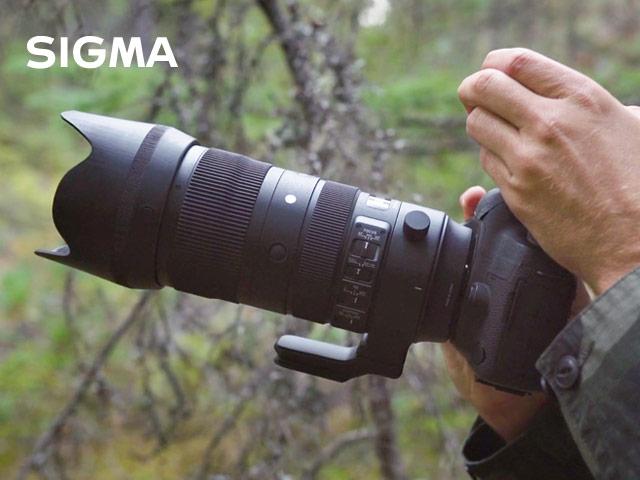 kötü hava şartlarına dayanıklı SIGMA 70-200 mm 2.8