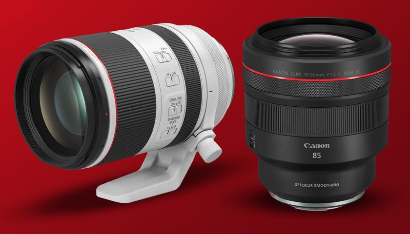 RF montajlı yeni Canon lensler geliyor | PHOTO-TREND