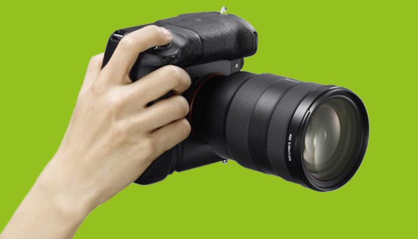 Grip | Photo: SONY Inc.