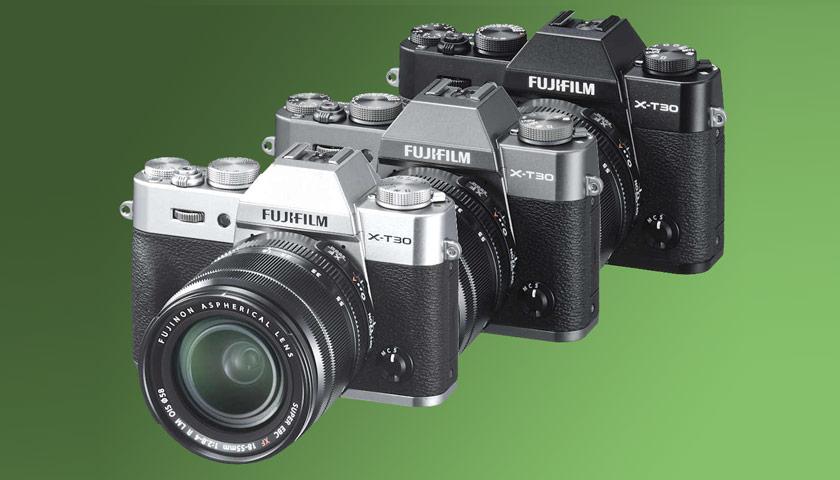 Fujifilm X-T30 Colors