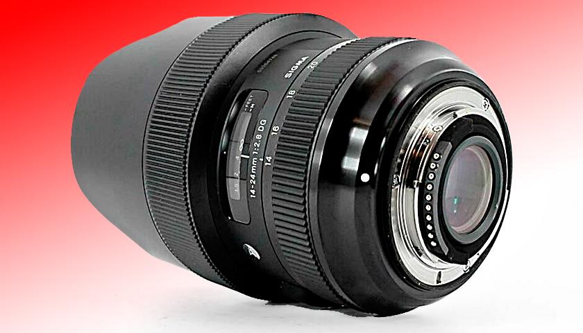 Sigma 14-24 mm f:2.8 DG HSM Art Nikon