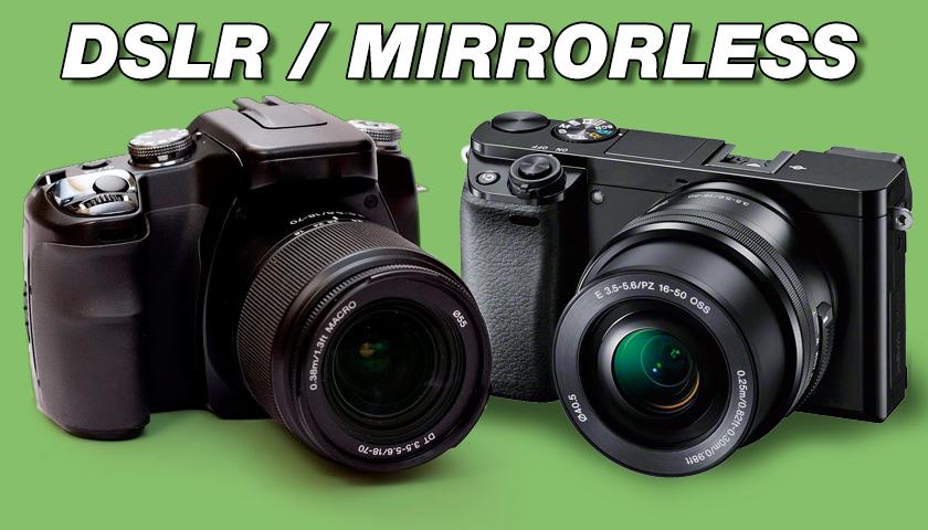 DSLR vs Mirrorless