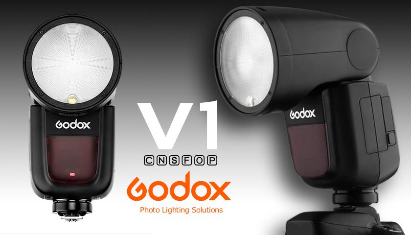 TTL Flash Godox V1 pour appareil photo | PHOTO-TREND