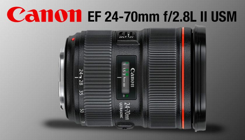 Canon EF 24-70 mm f / 2,8L II USM | PHOTO-TREND