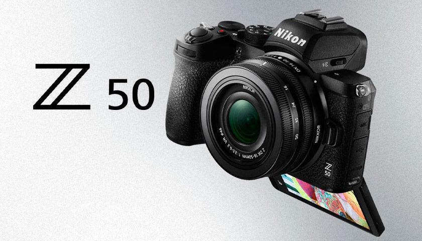 Nikon Z50 Appareil photo sans miroir | PHOTO-TREND