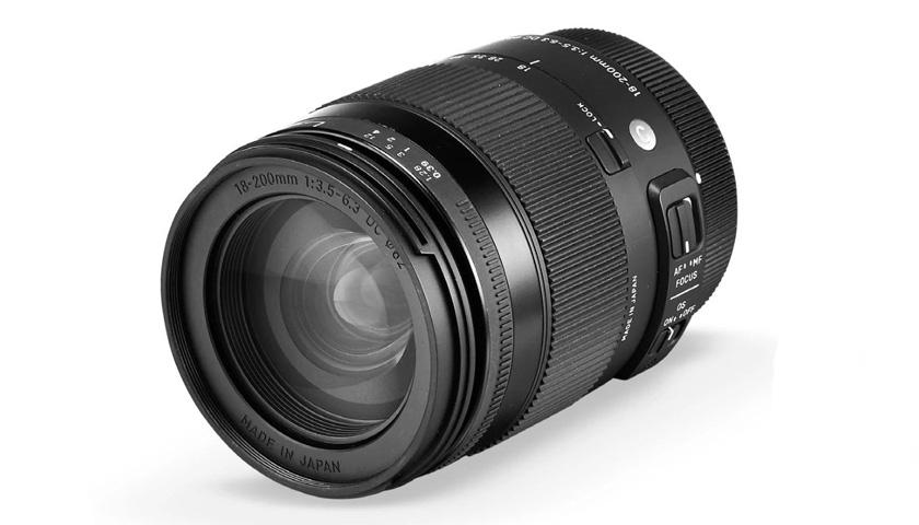 Sigma 18-200 mm f/3.5-6.3 DC Macro OS