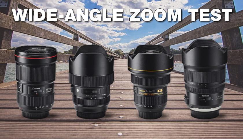 Geniş açılı zoom lensler