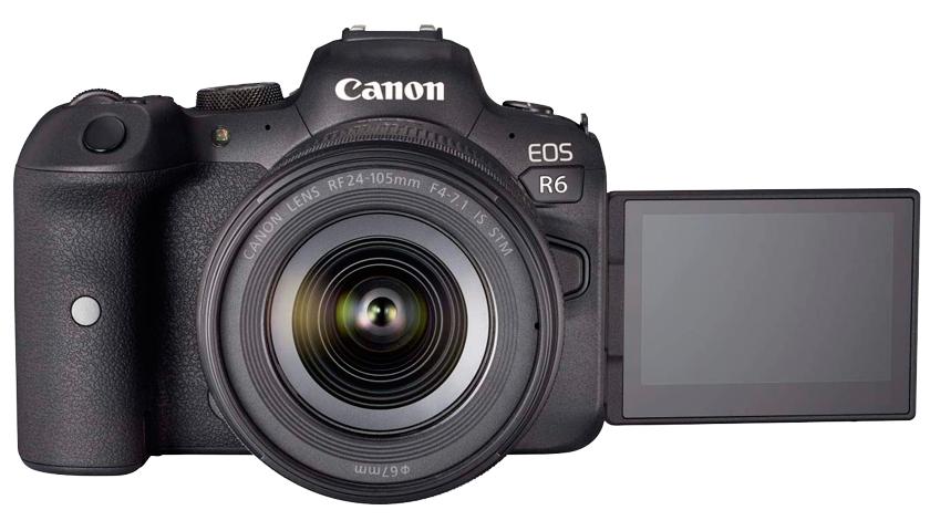 Canon EOS R6 2020 Yılının aynasız (mirrorless) full frame Fotoğraf Makinesi.