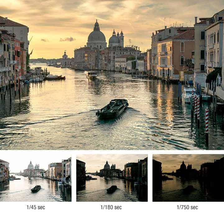 hdr fotoğraf tekniği ile çekilmiş venedk Grand Kanal ve san marco kilisesi